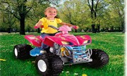 Power Wheels Barbie Kawasaki KFX with Monster Traction